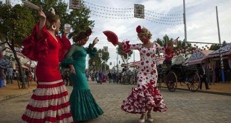 In Pictures: Seville's Flamenco Fair kicks off