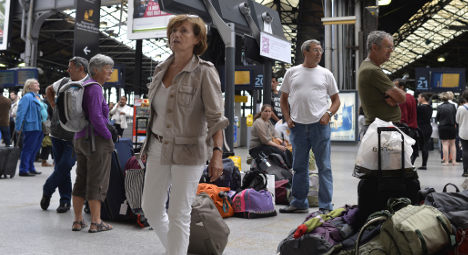 French rail strike: Unions extend action again