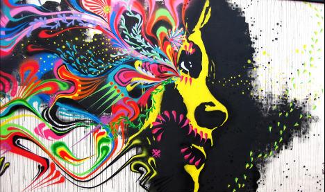 Malmö artwork washed off as graffiti