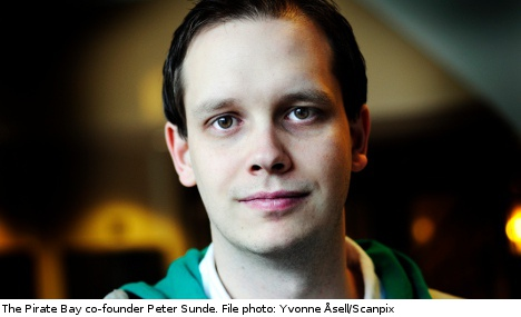 Pirate Bay founder Peter Sunde arrested