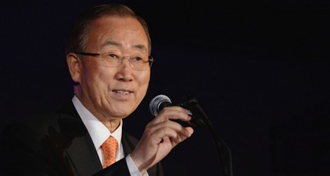 UN chief warns Iraq crisis could spill over borders