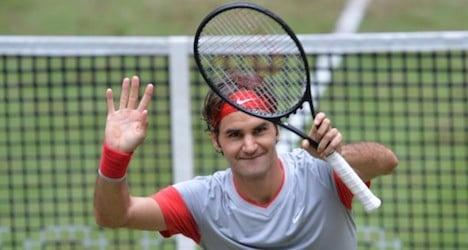 Federer wins Halle tourney for seventh time