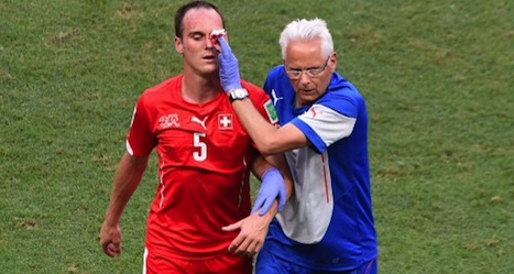 Injury forces Swiss player out of World Cup