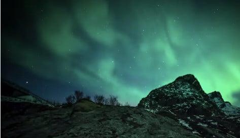 Beautiful time-lapse of Lofoten Islands