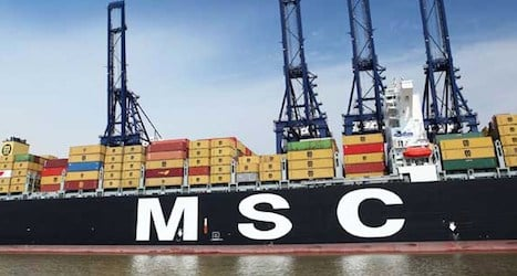 China blocks shipping group with Swiss firm