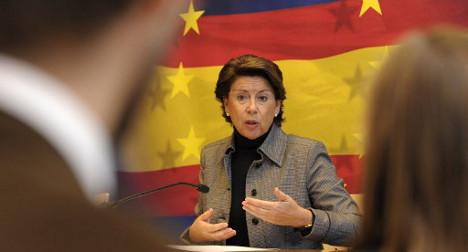 Spanish EU bank boss quits amid scandal