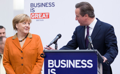 Merkel: 'UK belongs in EU'