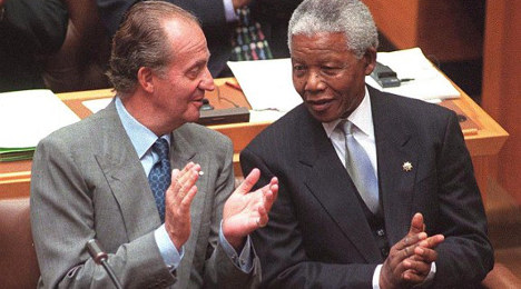 In pictures: The reign of King Juan Carlos