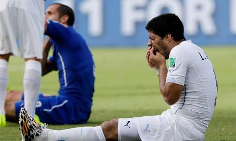 Swedish football fan wins big after Suarez bite