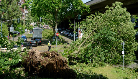 What caused Germany's deadly storm?