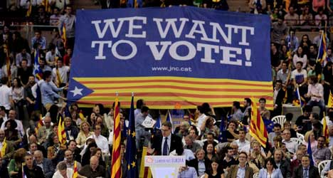Catalan leader grilled on independence on CNN