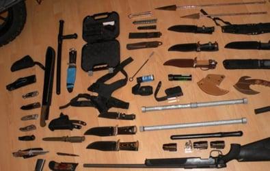 Weapons stash found in Lower Austria