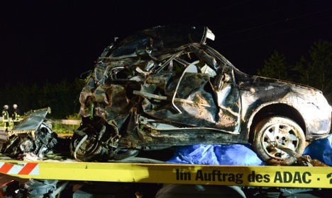 Entire family almost wiped out in car crash