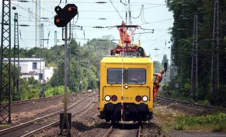 Storms cause delays on major rail routes