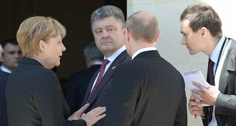 Ukraine's new president in talks with Austria