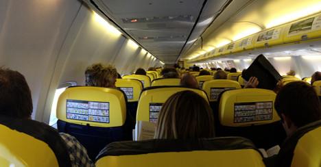 Five injured on Spain-bound Ryanair flight