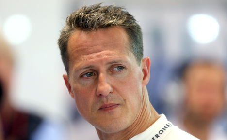 Schumacher's medical files 'stolen'