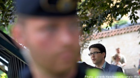 Police beef up security for Almedalen
