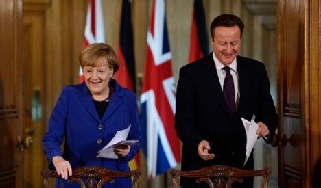Merkel blasts critics of UK as 'unacceptable'