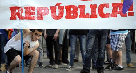 Banned: anti-king demo won't spoil parade