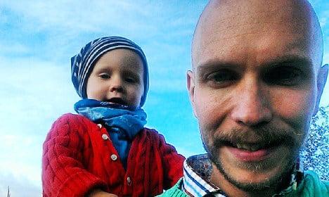 Son's cancer prompts Fredrik's charity climb
