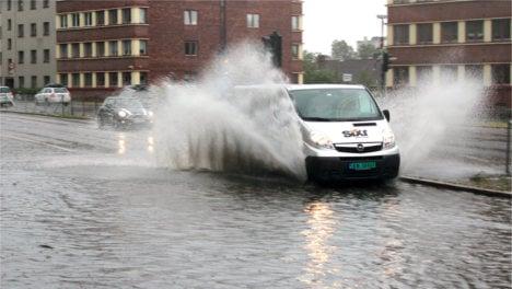 Record rainfall swamps Oslo
