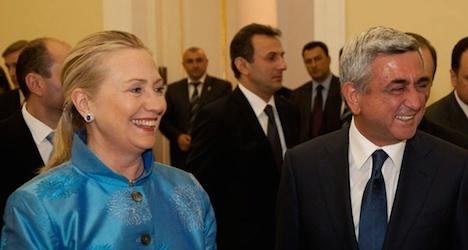 Armenian President Sargsyan to visit Vienna