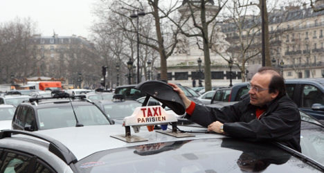 Taxi driver strike to add to French travel chaos
