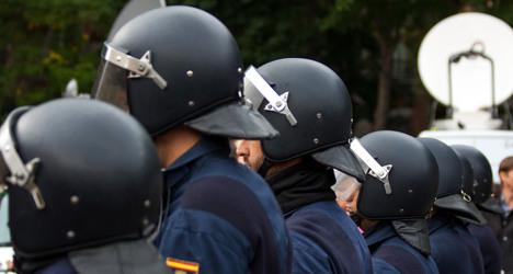 Spain raises terror alert level for royal fest