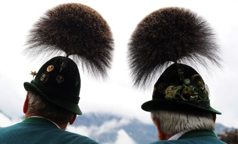 What do Germans think of Austrians?