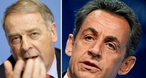 Ex-Swiss president slams 'disrespectful' Sarkozy