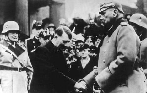 Berlin still honours Hitler's 'trailblazer'