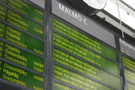 Union: No end in sight for Swedish train strike