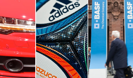 Germany's 50 most valuable brands