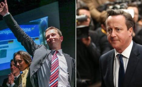 German eurosceptics join UK Conservatives