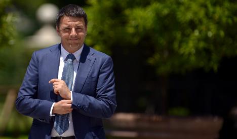 Italy's Renzi demands change from EU head