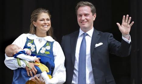 Sweden's Leonore makes royal princess debut