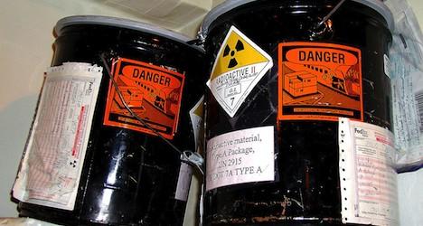 Authorities 'cover up' radioactive waste dump