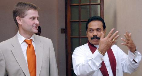 Envoy wants to testify on Sri Lanka war 'atrocities'
