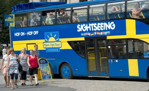 Tourist numbers in Sweden on the rise