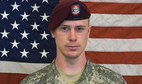 Sergeant Bowe Bergdahl leaves Germany for US