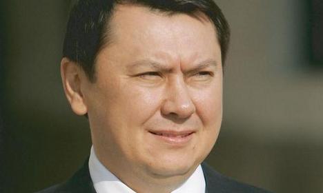 Former son-in-law of Kazakh leader arrested