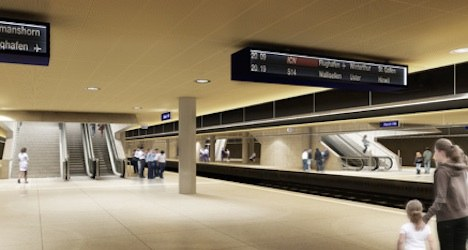 Zurich's new rail line runs 'without a hitch'