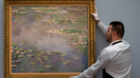 Claude Monet's 'Water Lilies' sells for $54m