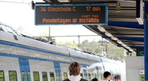 Railway strike: Next stop, Stockholm