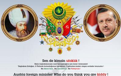 Pro-Erdogan group hacks Kurz's homepage