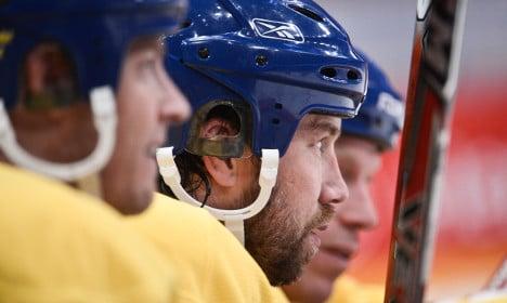Sweden's Peter Forsberg enters NHL hall of fame