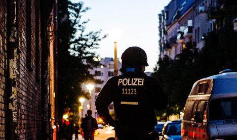 Dozens injured in riot on Berlin street