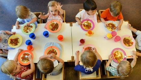 German children fed too much meat
