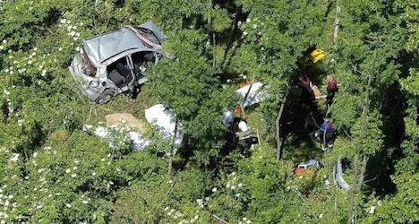 Crash on forest road kills four near Ybbsitz